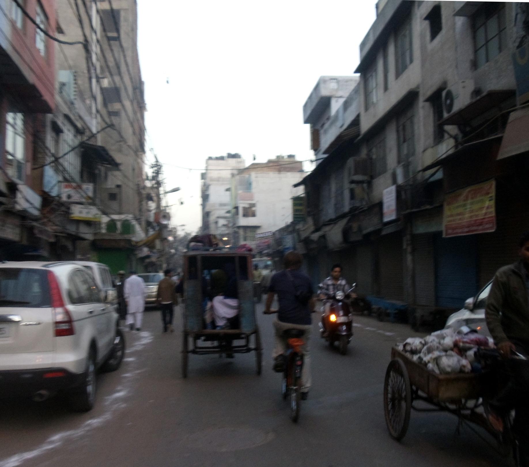 Family Trip – Delhi Bike Tour